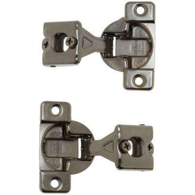 1 in. x 1 in. Medicine Cabinets Hinge (2-Pack)