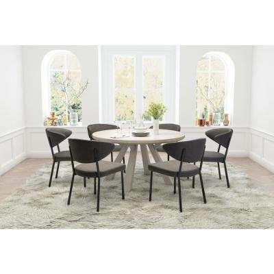 Pontus Charcoal Gray Dining Chair (Set of 2)