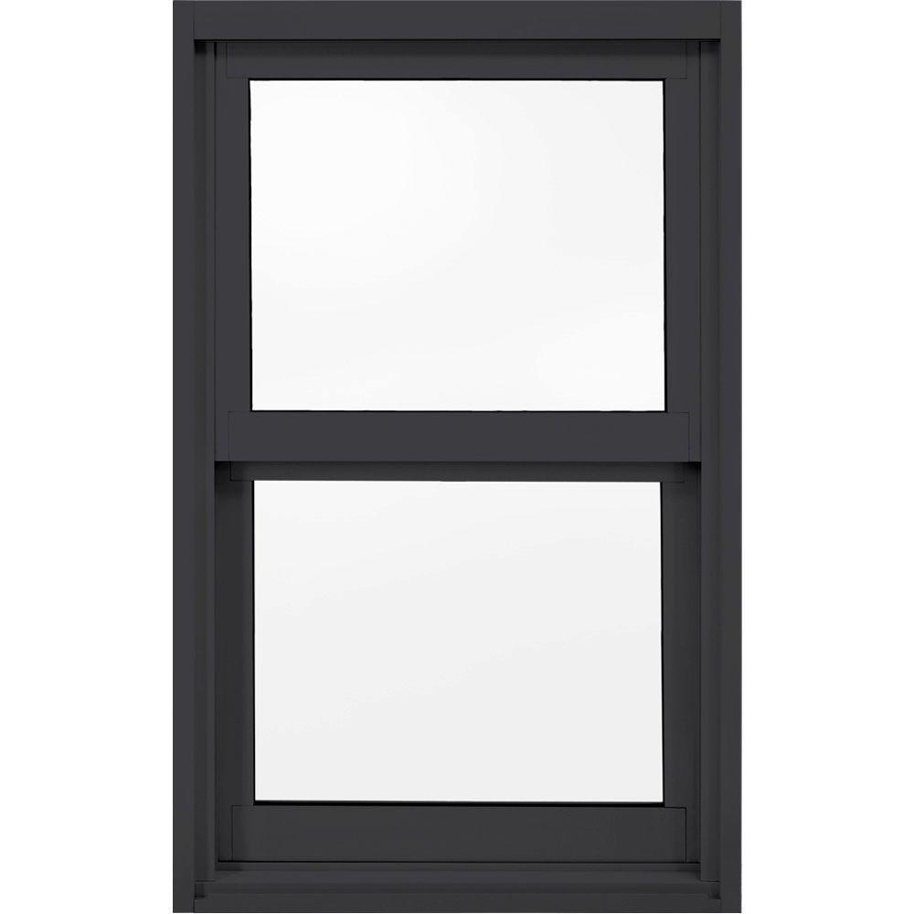 23.5 in. x 47.5 in. A-200 Series Single Hung Aluminum Window