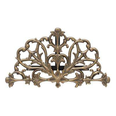 Filigris French Bronze Hose Holder