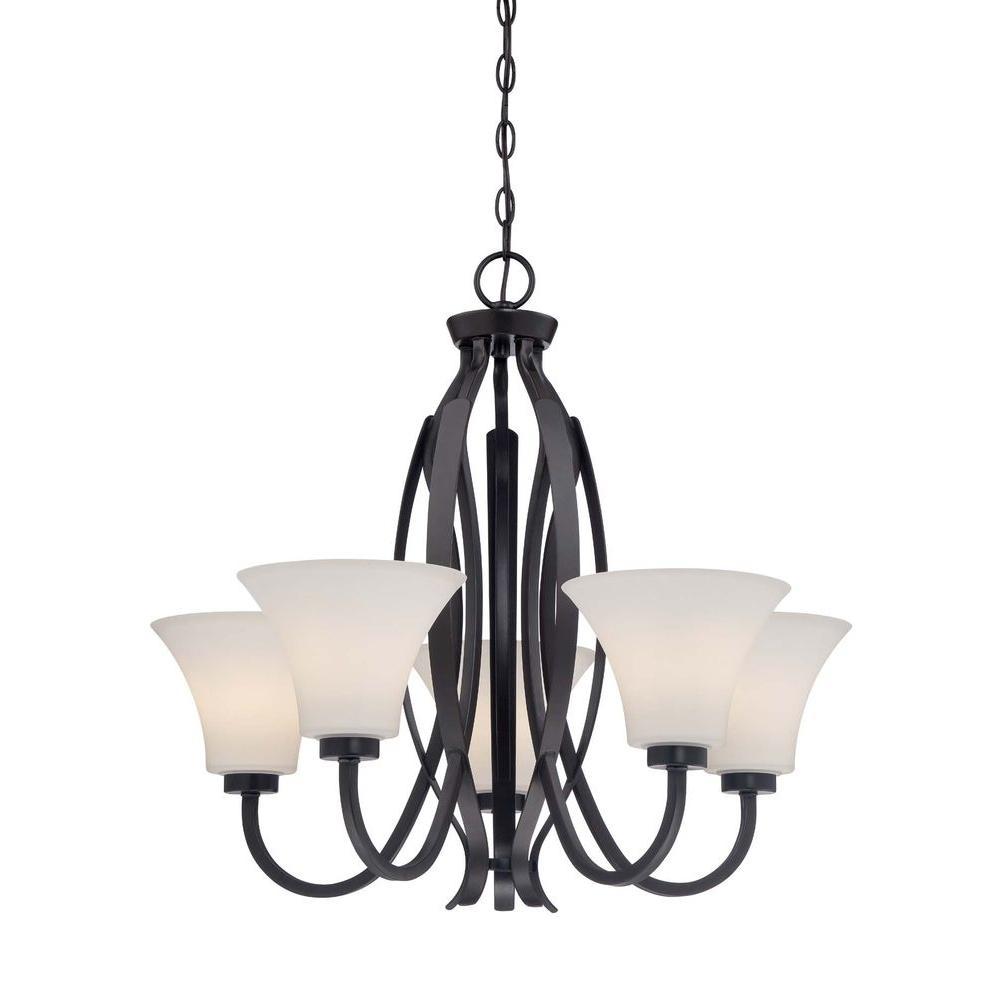 Illumina Direct Solpia 5-Light Vintage Bronze Chandelier
