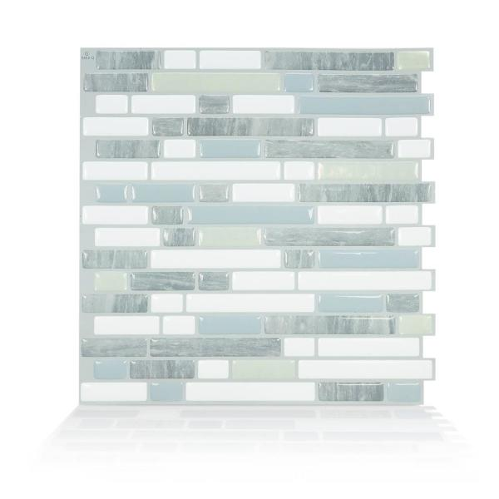 Smart Tiles Bellagio Costa 10.06 in. W x 10.00 in. H
