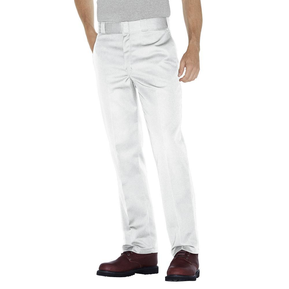 Original 874 Men 38 in. x 34 in. White Work Pant