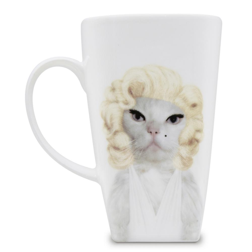 20 oz.  Diamonds  Pets Rock Collectible Fine Bone China Mug, Diamonds These Pets Rock fine bone china coffee mugs give you the option to see the adorable pets you love dressed as celebrities on your mugs. Available with a variety of furry creatures to fit any animal lovers desires. What better way to start your morning than with a cup of Joe and your adorable Pets Rock buddy. The porcelain is milky white in color, beautiful in shape and comfortable in your hand. Color: Diamonds.