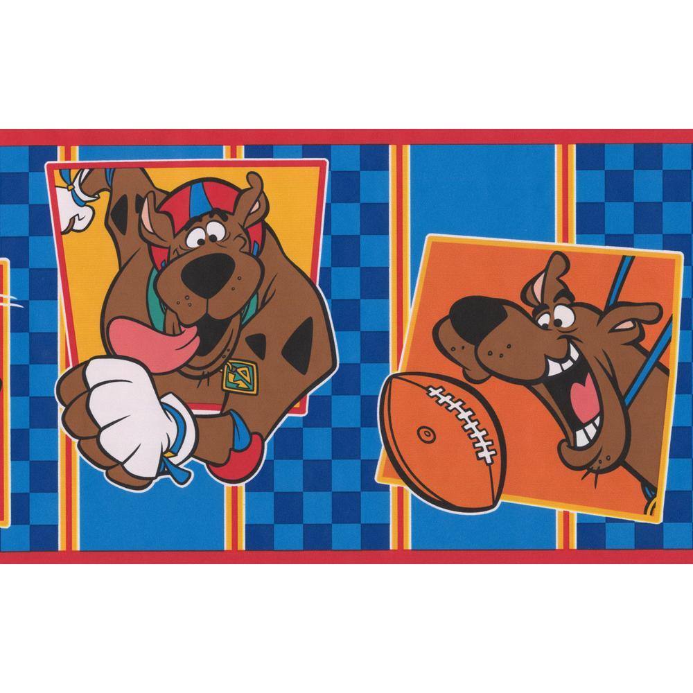 Retro Art Scooby-Doo Disney Cartoon Prepasted Wallpaper Border JC5970B