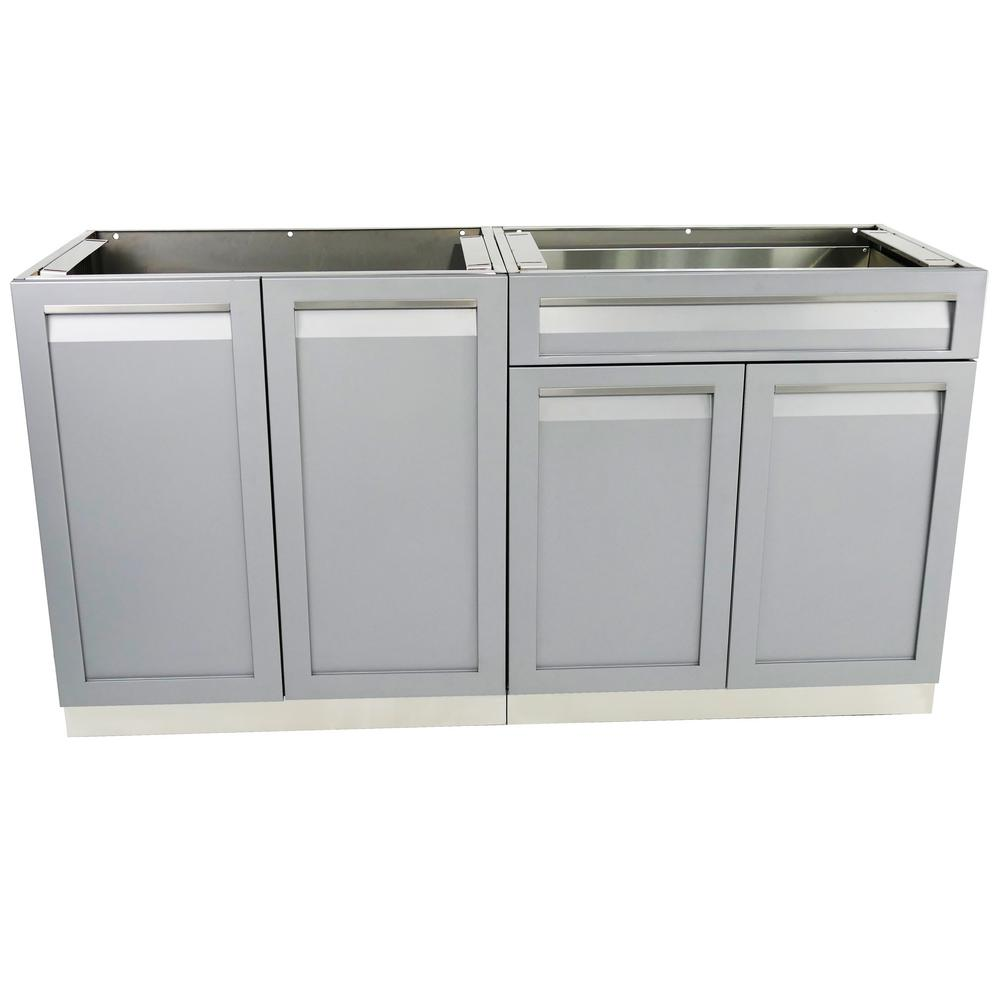 stainless steel cabinet doors for outdoor kitchen 4 outdoor stainless steel 2 64x35x22 5 in 9778