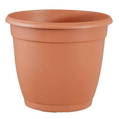 11 in. Decorative Terra Cotta Poly Planter