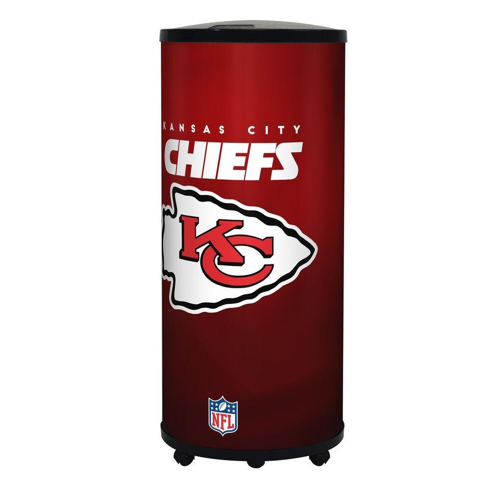 NFL 22 Qt. Kansas City Chiefs Ice Barrel Cooler
