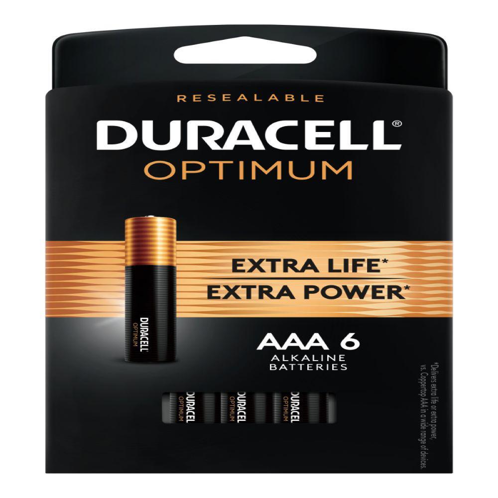Optimum AAA Alkaline Battery (6-Pack)