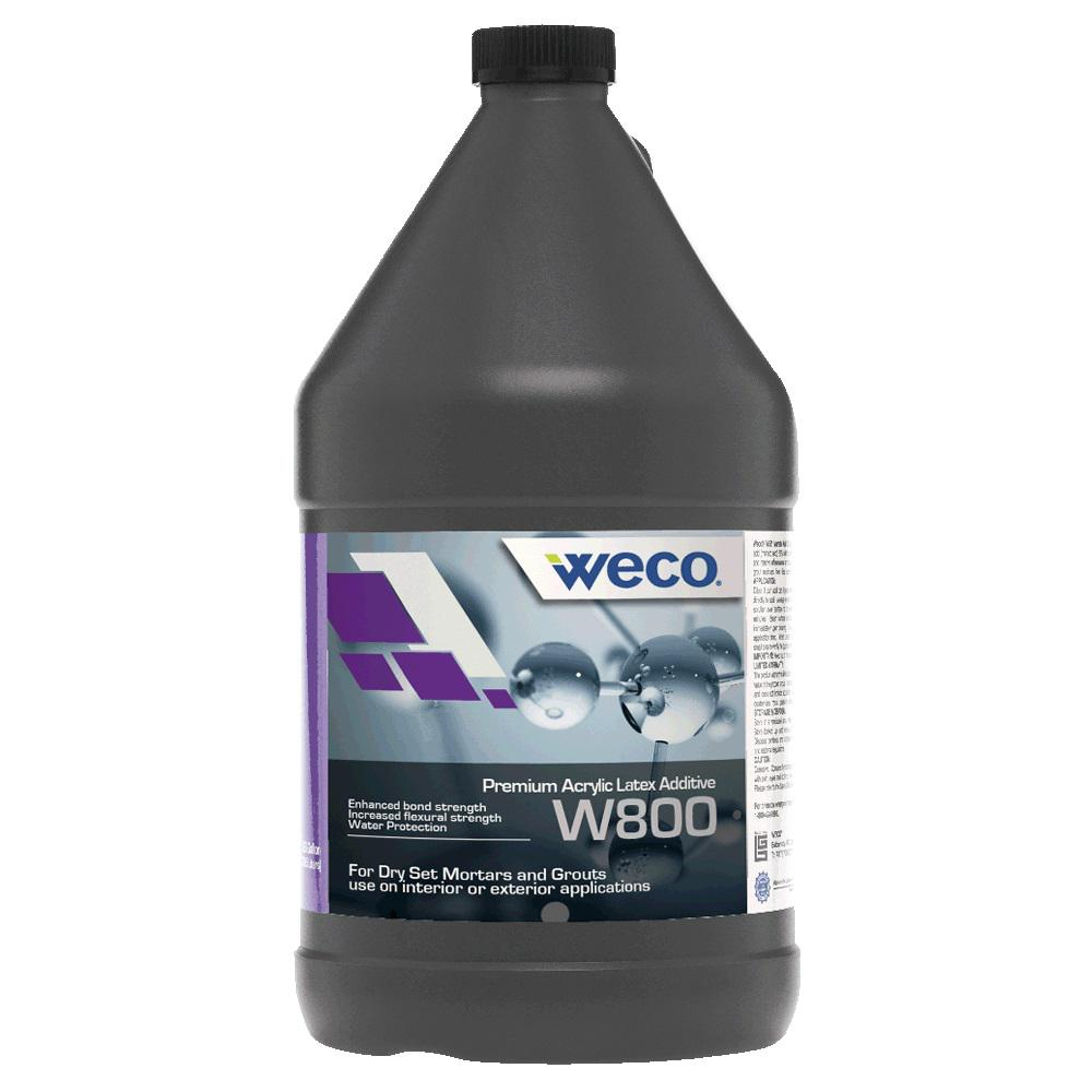 Weco W 800 1 Gal Acrylic Latex Additive 80010 The Home Depot