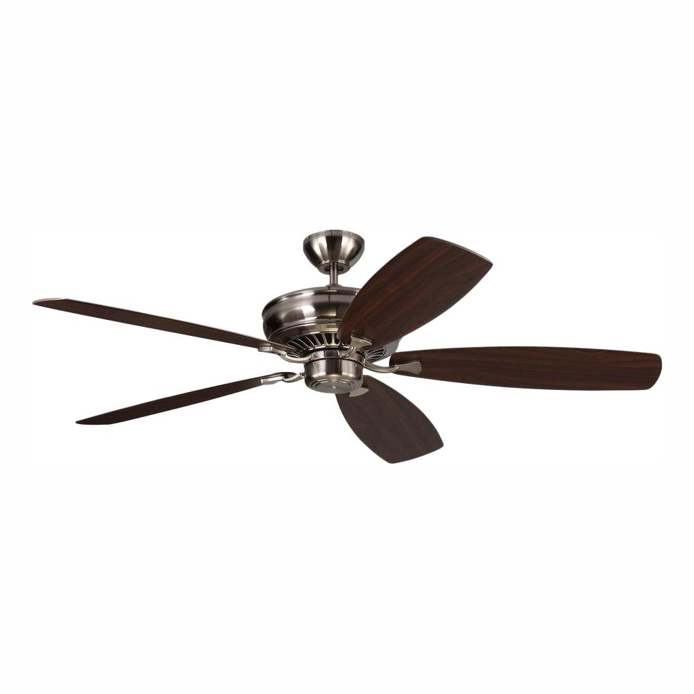 Monte Carlo Bonneville Max 60 in. Brushed Steel Ceiling Fan