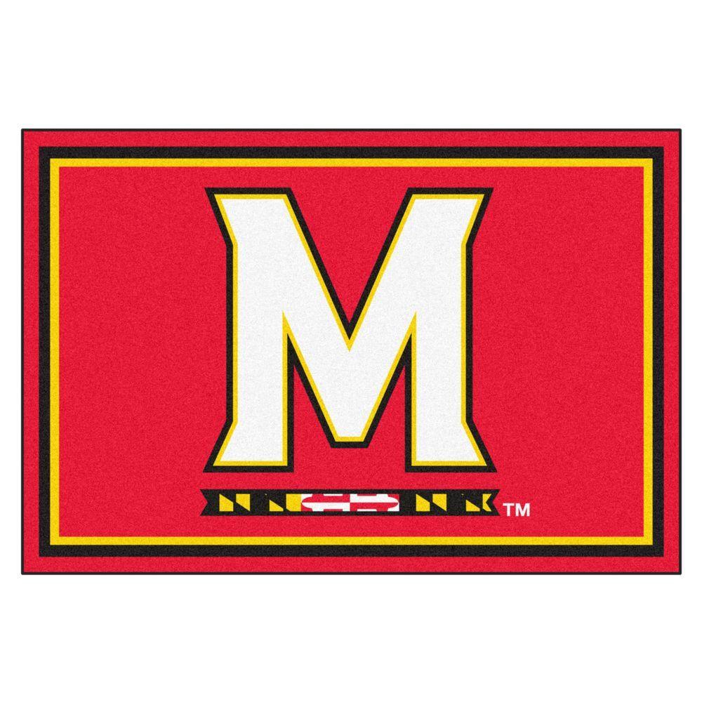 Fanmats 11363 University of Maryland Terrapins Vinyl Medallion Door Mat