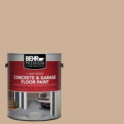 1 gal. #N260-3 Polo Tan 1-Part Epoxy Concrete and Garage Floor Paint