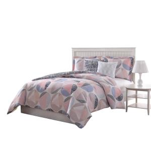 Jagger Reversible 5-Piece King Comforter Set by