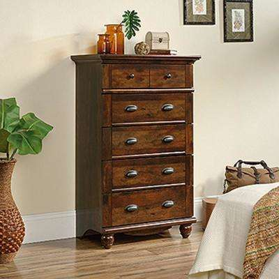 Harbor View 5-Drawer Curado Cherry Chest