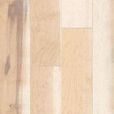 Revolutionary Rustics Walnut Breezy White 1/2 in  T x 6-3/4 in  W x Varying  L Engineered Hardwood Flooring (21 5 sq ft )