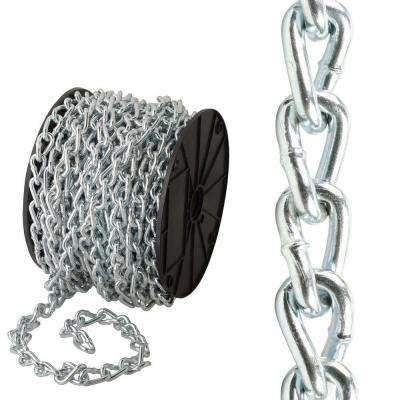 #2/0 x 75 ft. Zinc-Plated Twisted Link Chain