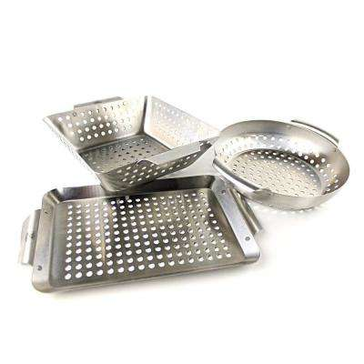 Set of 3 Grill Baskets