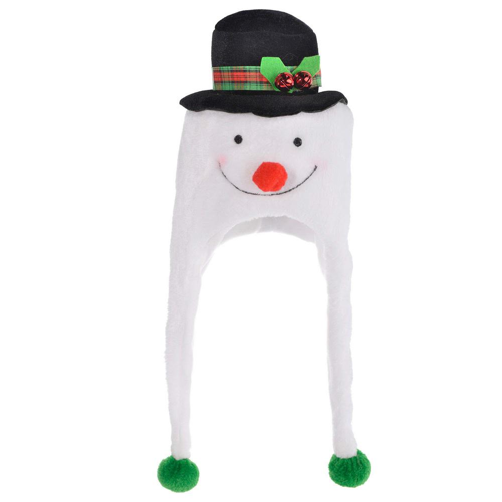Amscan 22 in. x 8 in. Snowman Christmas Laplander Hat-392049 - The ... fdd1d8e2c14
