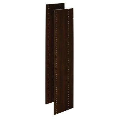 Espresso Wood Vertical Panels (2-Pack)