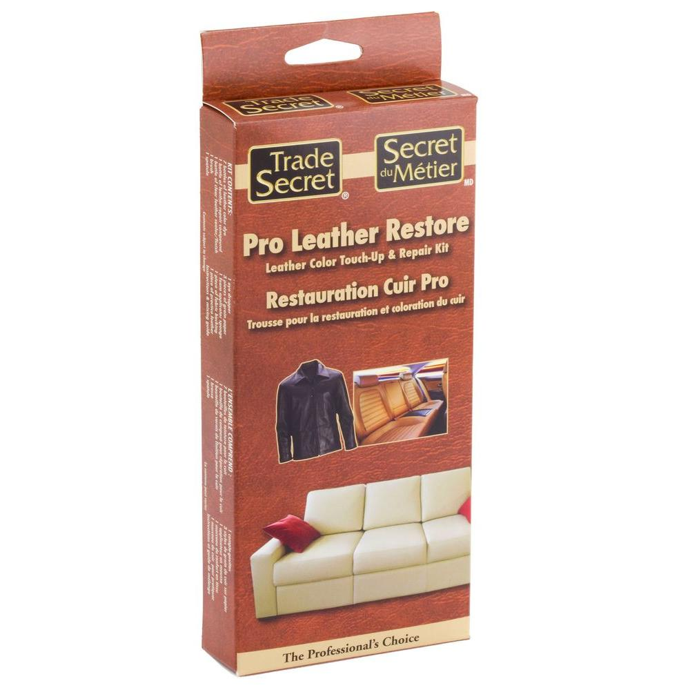 Trade Secret Pro Leather Restore Kit 686310 The Home Depot