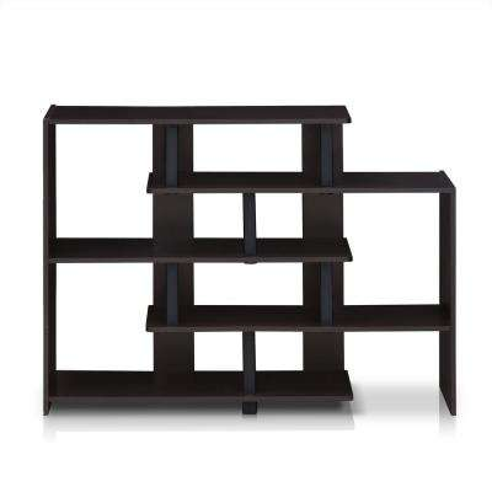 Turn-N-Tube Espresso/Black 5-Tier Storage Shelf