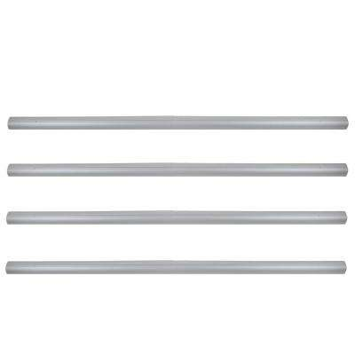 4 in. x 16 ft. Aluminum Tubes for In-Ground Pool Cover Reel System