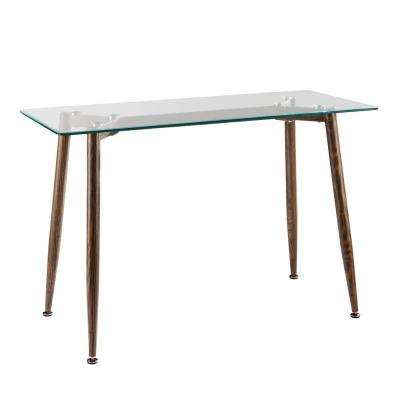 Riata Oak Contemporary Console Table