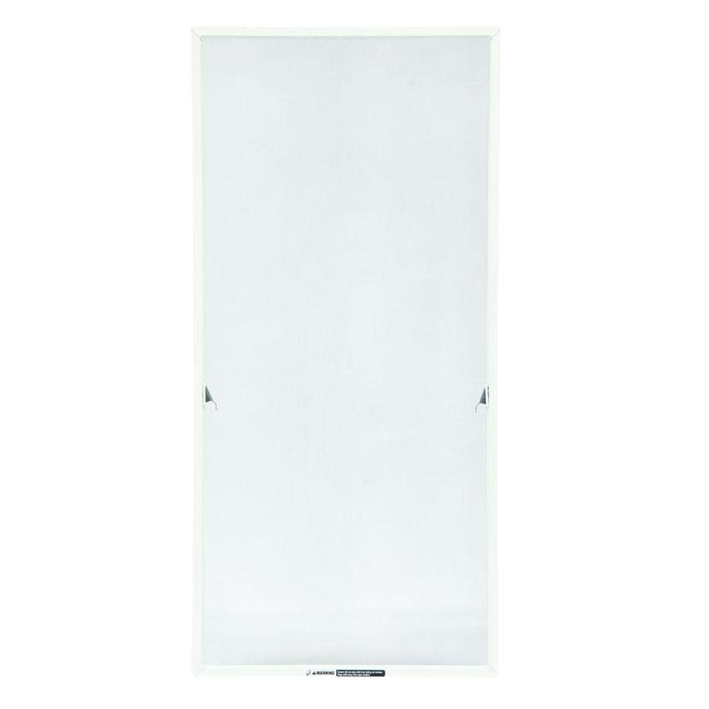 TruScene 17-1/16 in. x 36-11/32 in. White Aluminum Casement Insect Screen