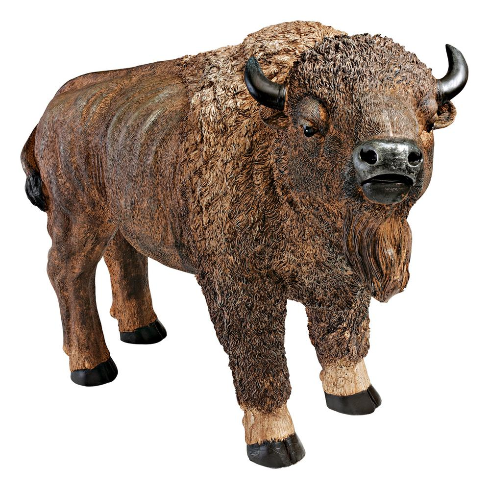21.5 in. H The American Buffalo Garden Statue