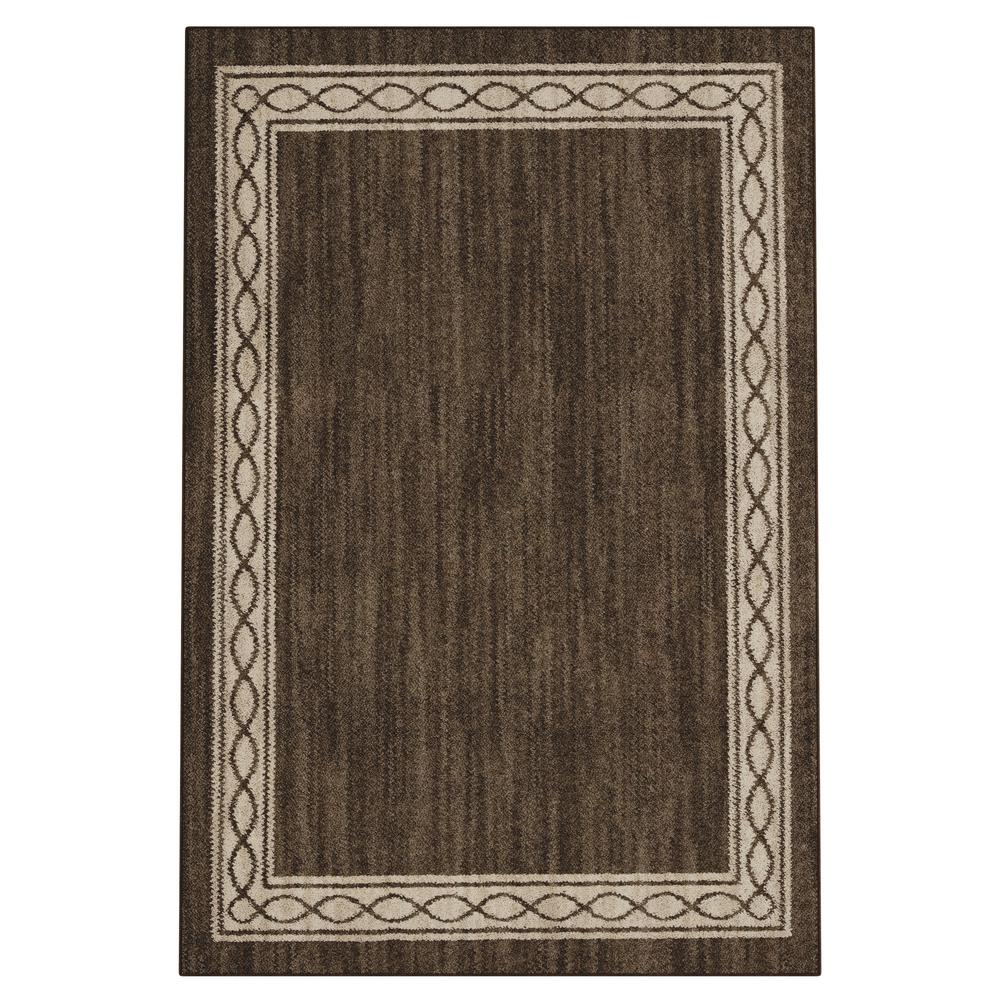 PetProof Sparrow Major Brown/ Bone White 4 ft. x 6 ft. Area Rug