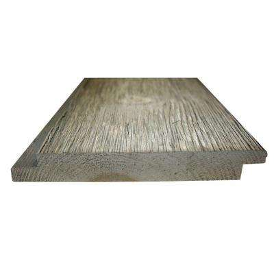 1 in. x 6 in. x 8 ft. Barn Grey #2 and Better Pine Windswept Shiplap Barn Wood Board (7-Piece/Box)