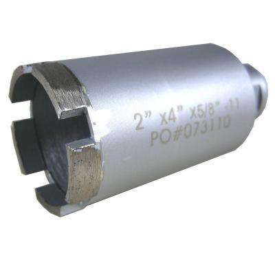 2 in. Wet Diamond Core Bit for Stone Drilling