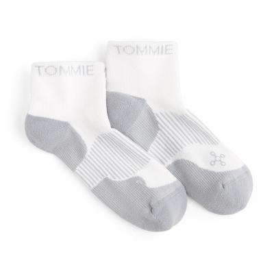 9-11.5 White Men's Athletic Ankle Sock