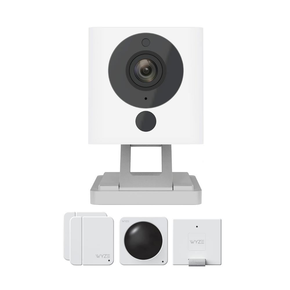Wyze 1080p Indoor Wireless Surveillance System includes WyzeCam v2 Camera  and Wyze Sense Starter Kit
