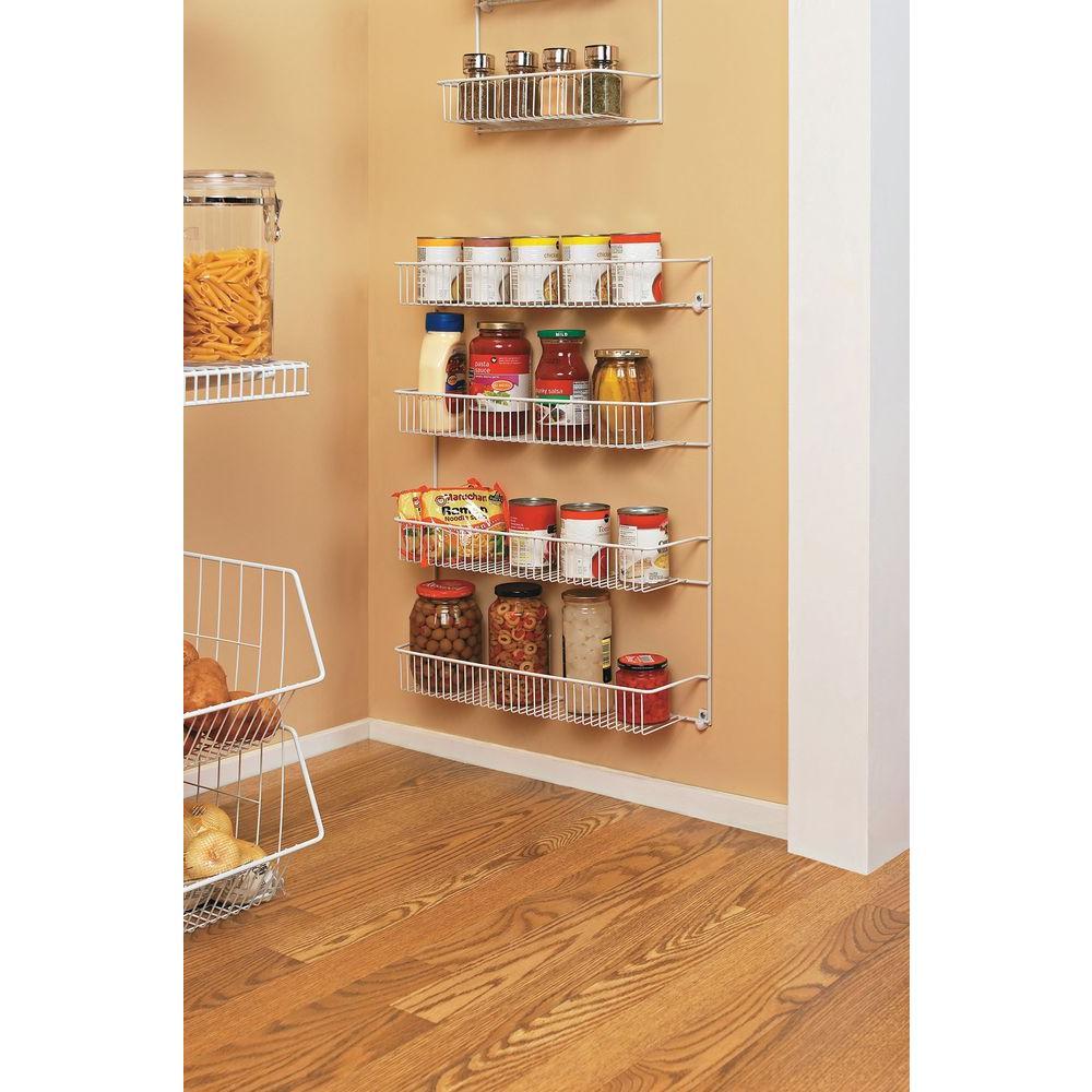 Closetmaid 19 Inch Wide 4 Tier Storage Rack Pantry Kitchen