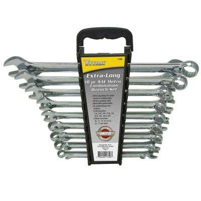 18-Piece Extra Long Wrench Set