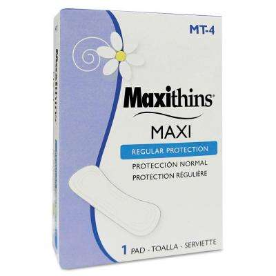 Maxithins Thin Full Protection Pads Individually Boxed (250-Count)