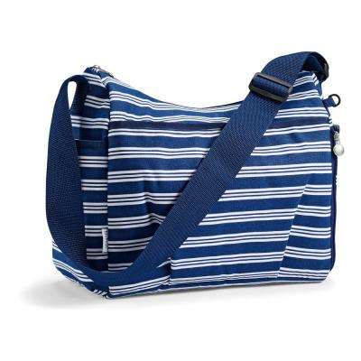 Mommy and Me Navy Insulated Diaper Bag