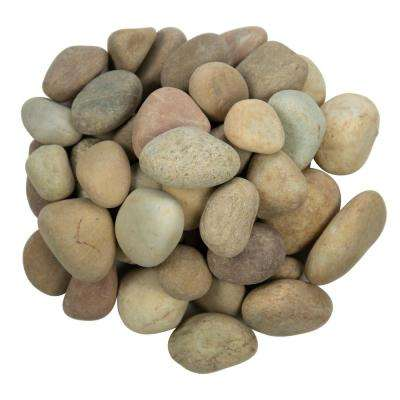 0.5 cu. ft . 1 to 2.5 inch Niagara Yellow Pebbles. 40 lb. Bag (28 Bags / Pallet)
