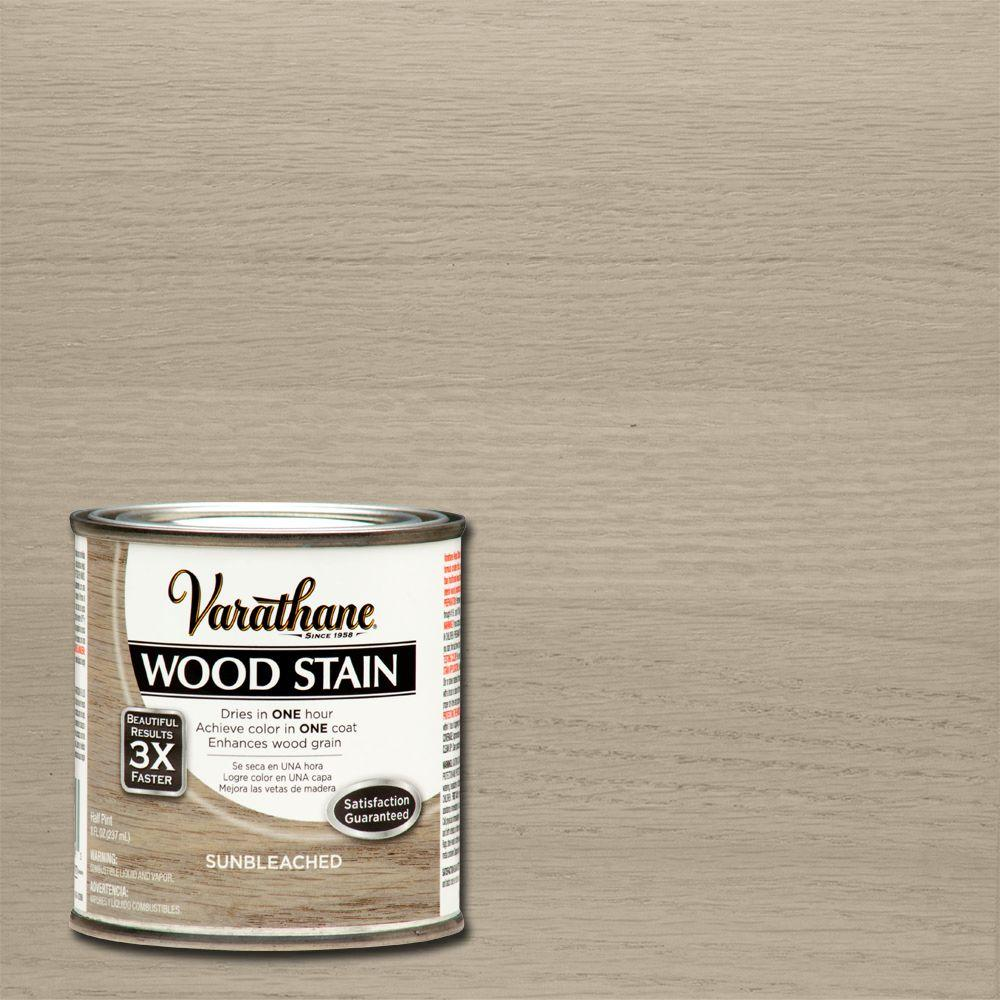 Varathane 8 oz. Sunbleached Wood Interior Stain-266192 - The Home ...