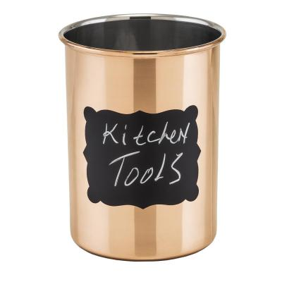 Decor Copper Chalkboard Tool Caddy