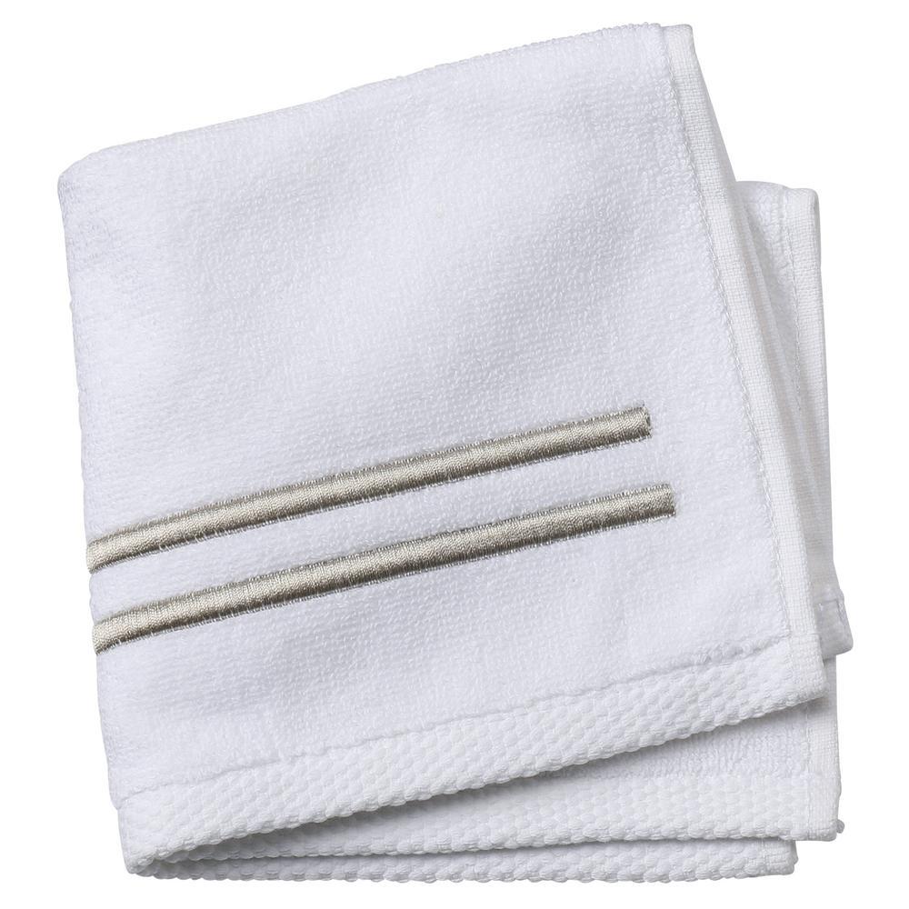 Sardis 1-Piece Face Towel in Bisque