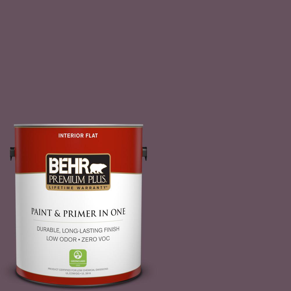 BEHR Premium Plus 1-gal. #N100-6 Urban Legend Flat Interior Paint