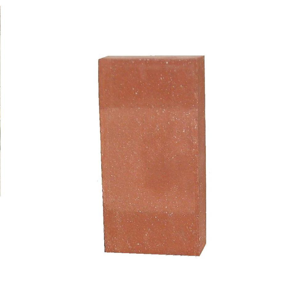 4 in. x 8 in. Red Ceramic Paver