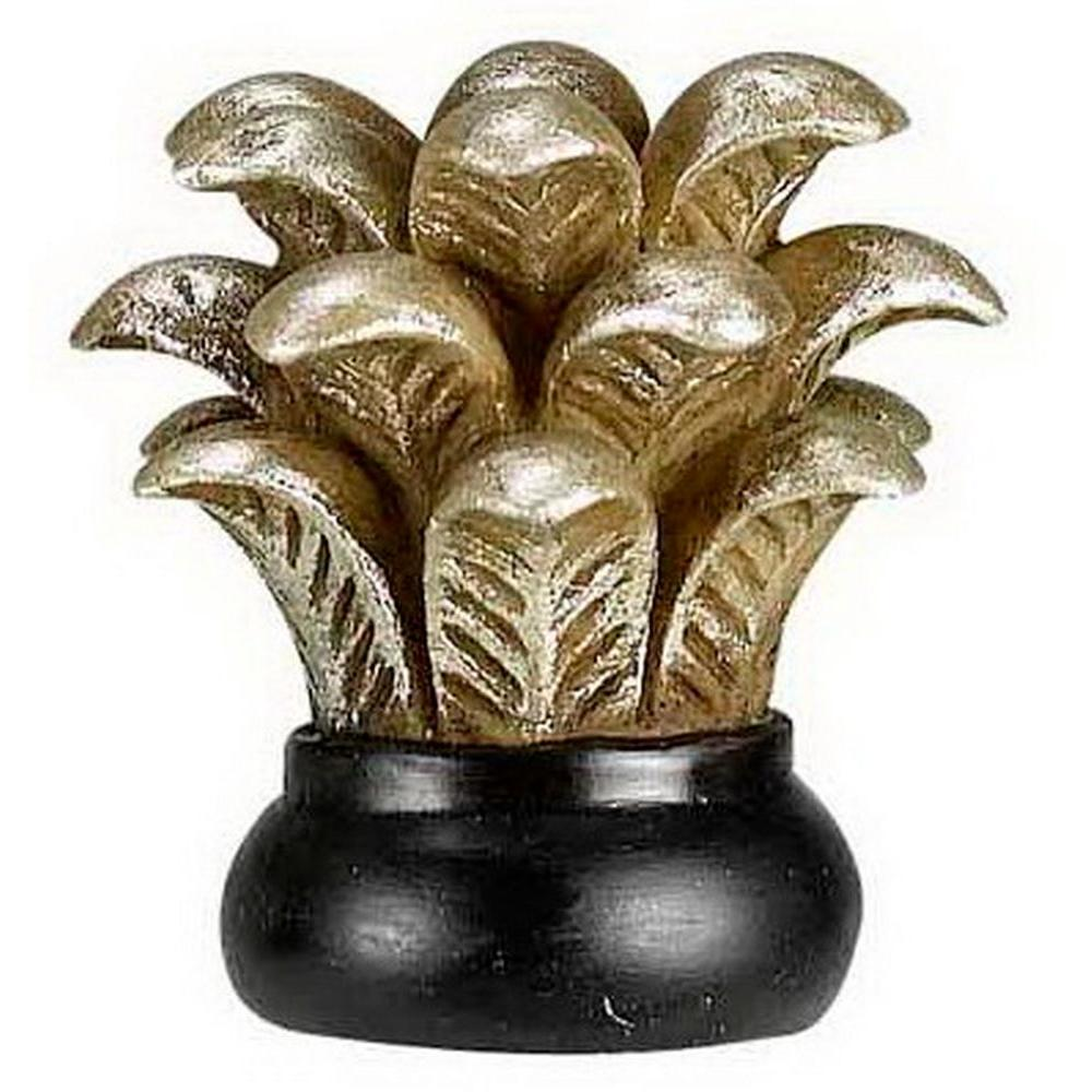 CAL Lighting 1.87 in. Leaf Resin Lamp Finial-DISCONTINUED