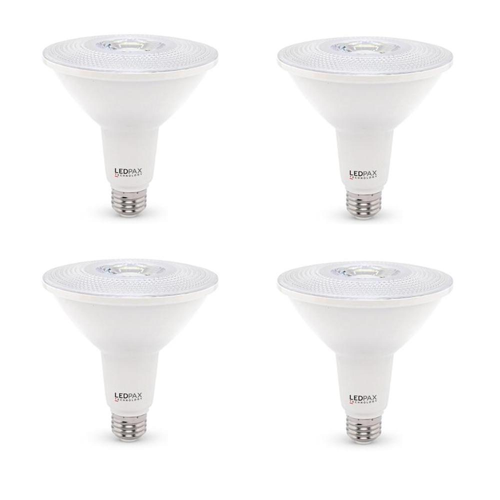 100-Watt Equivalent PAR38 Dimmable LED Light Bulb (4-Pack)