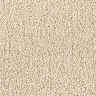 Carpet Sample - Windfall (S) - Color Flaxen Textured 8 in. x 8 in.