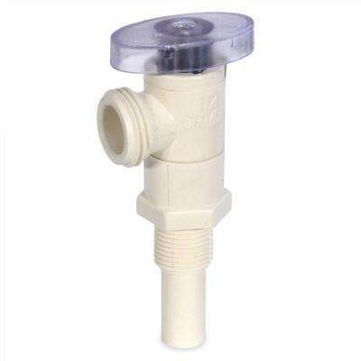 1/2 in. CPVC CTS Long Spigot x MHT Washing Machine Supply Valve