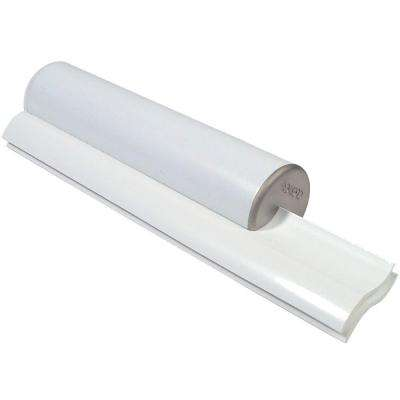 Elite Dual Bladed Shower Squeegee in Nickel with Satin Trim